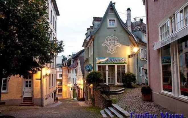 Райский уголок немецкой земли: Баден-Баден