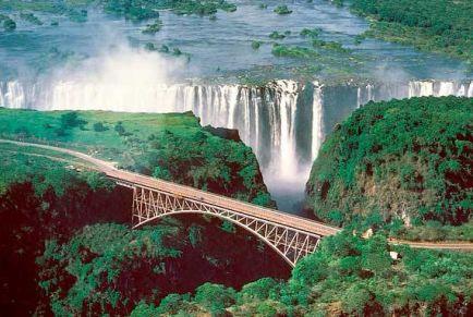 Мир водопадов: самые высокие, мощные и красивые падающие реки
