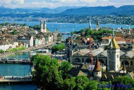 Сказочные дни в Цюрихе