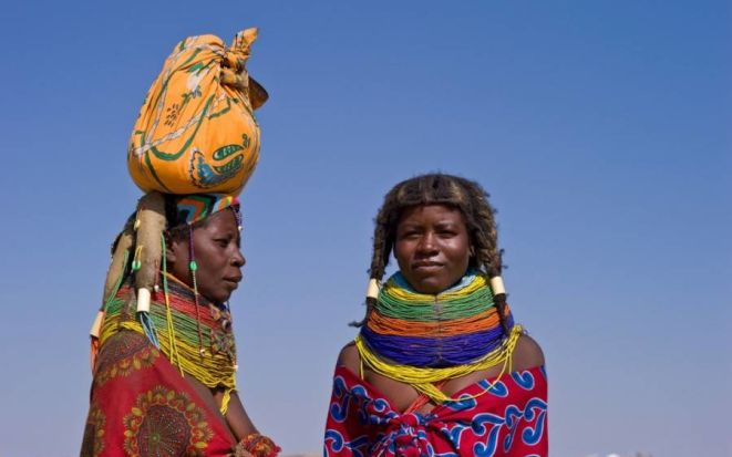 В стране красного буйвола – Анголе