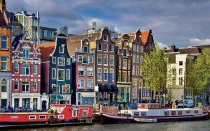 Тюльпаны, каналы и ветряные мельницы Амстердама