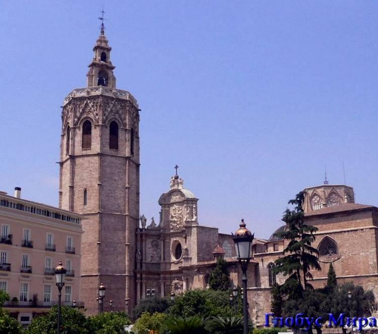Башня Торре-дель-Мигелете в Валенсии