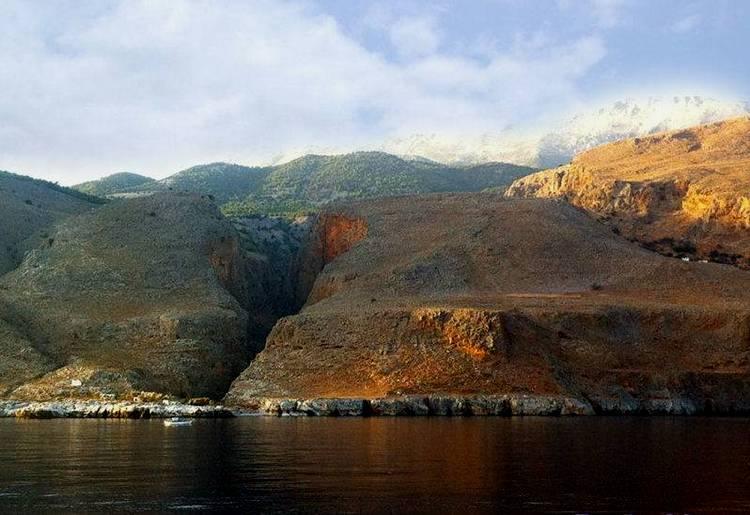 Ущелье Самарья на Крите