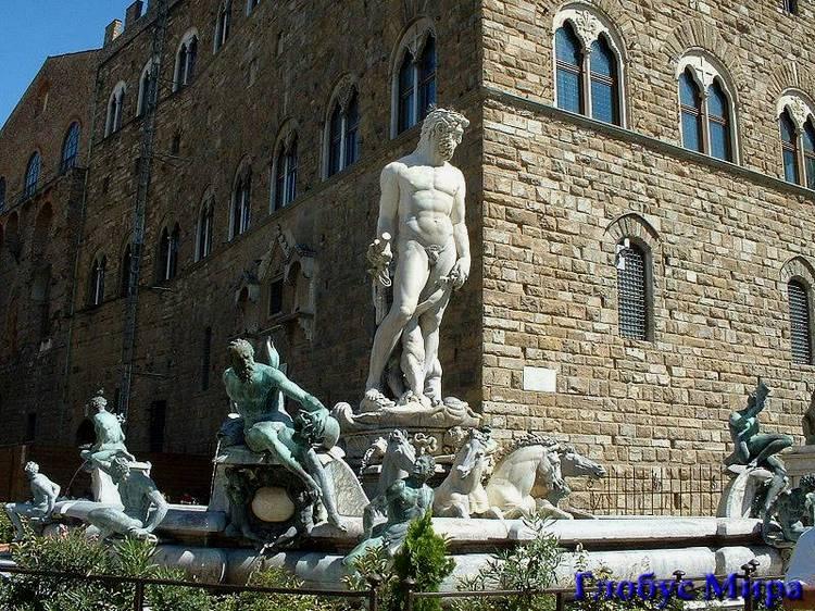 Фонтан Нептуна во Флоренции