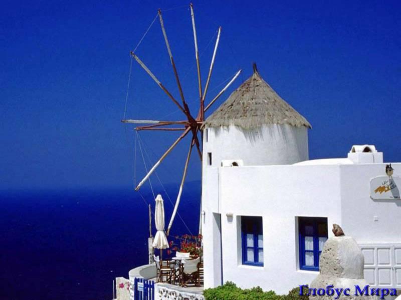 Сине-белый Родос (Греция)