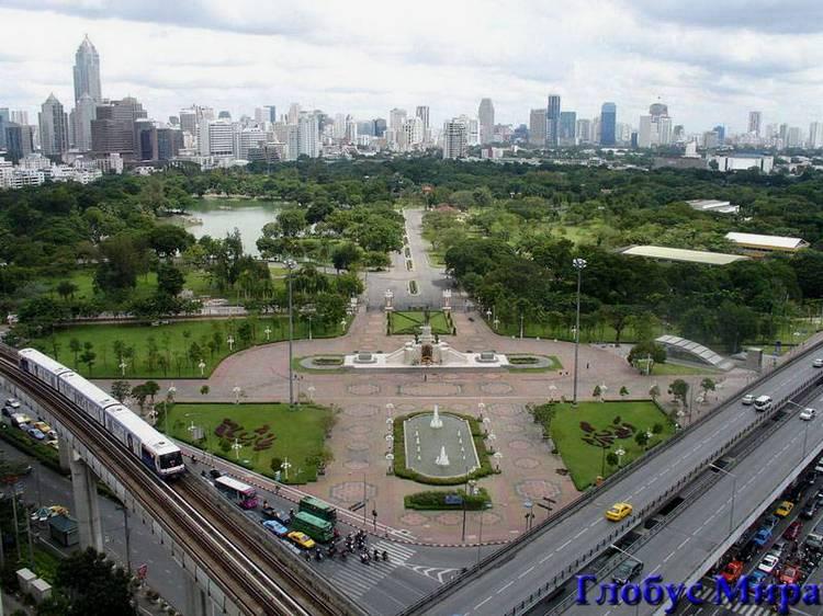 Крта: панорама Бангкока