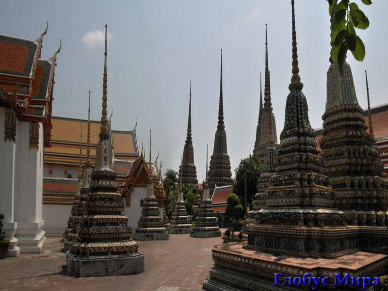 Карта экскурий: Монастырь Ват Пхо