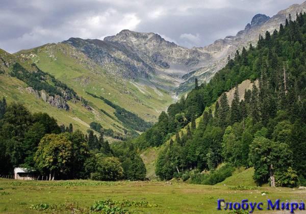 Зеленые долины