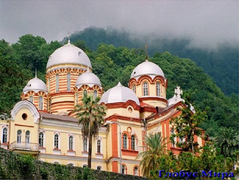 Монастырь в селе Каман