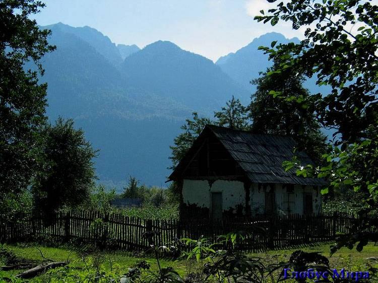 Высокогорное село Псху