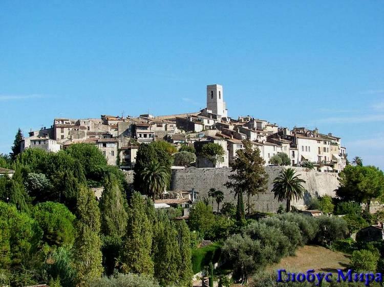 Окрестности Ниццы: Сен-Поль-де-Ванс