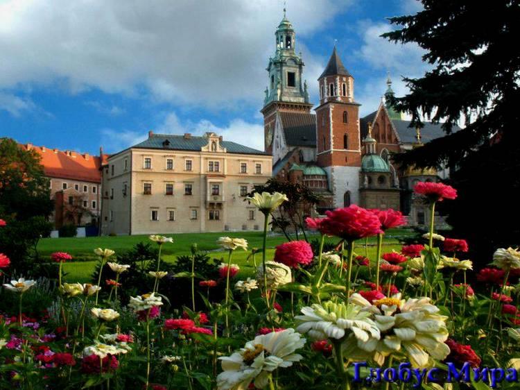 Польша, Краков. Королевский замок