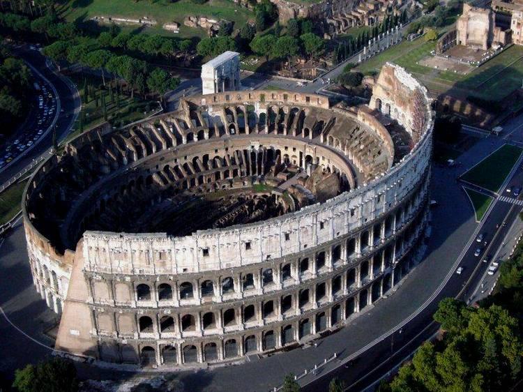 Достопримечательности: Разрушенный Колосс (Италия)