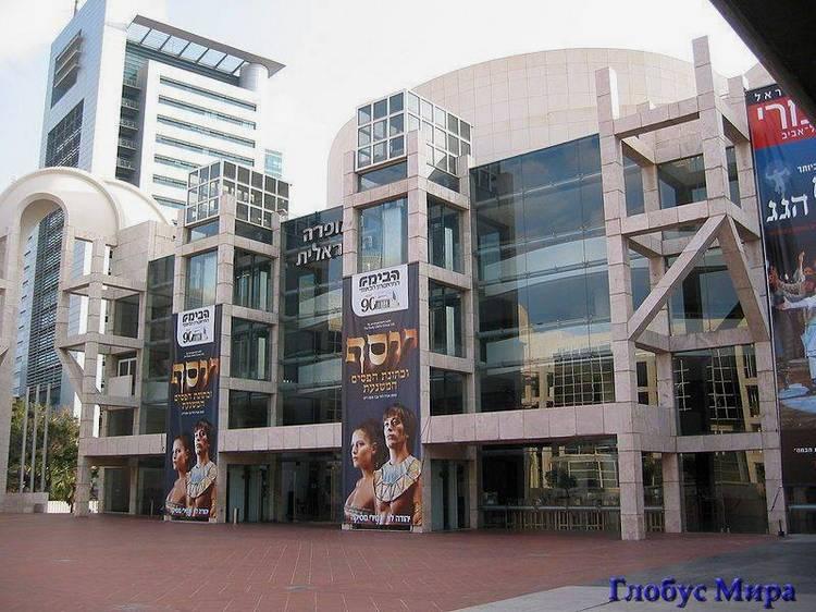 Здание Израильской оперы