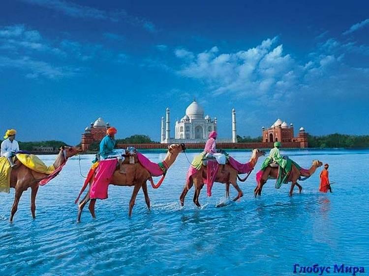 Путешествие в город Дели (Индия)