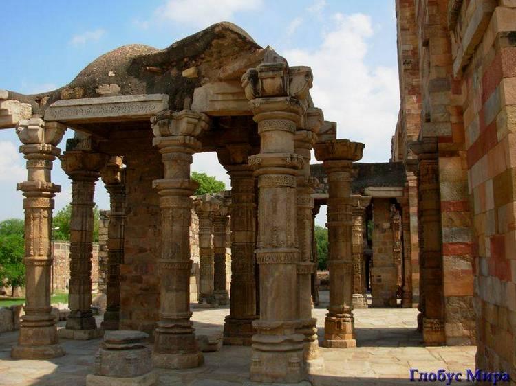 Путешествие в город Дели (Индия) Кутаб Минар