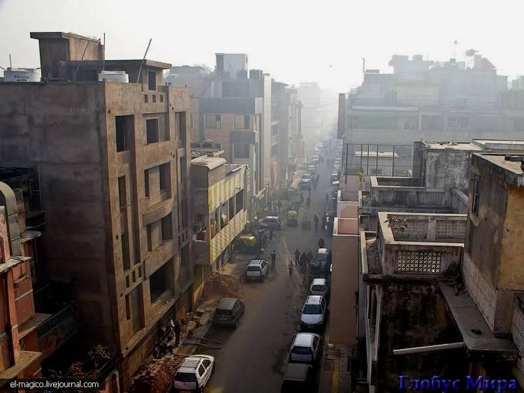 Городские здания в Дели