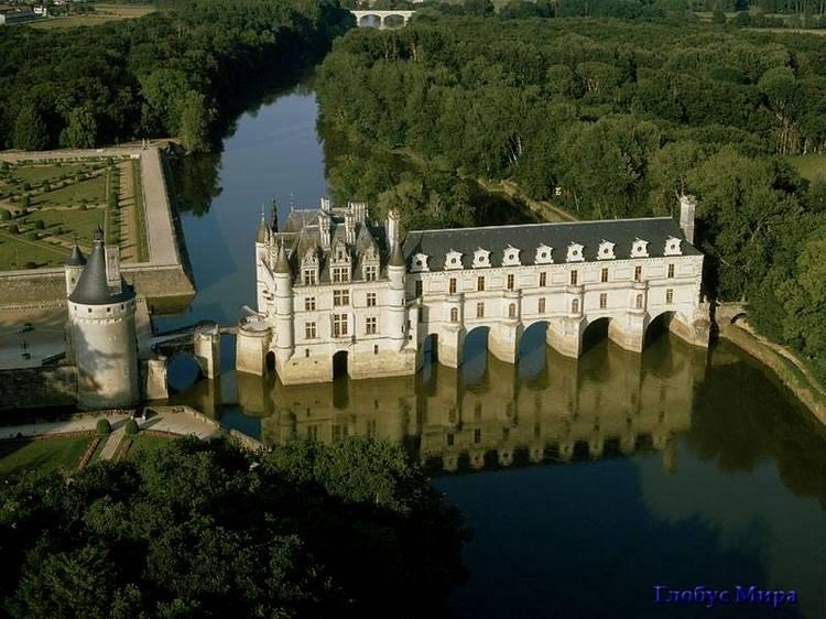 Старинные замки Луары (Франция)