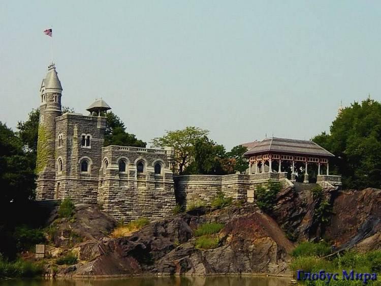 Замок Бельведер в Центральном парке