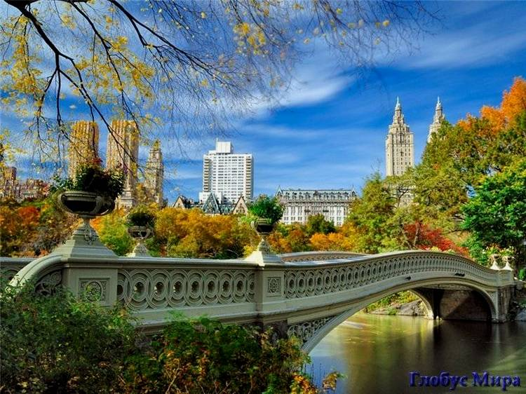Невероятная осень в Центральном парке