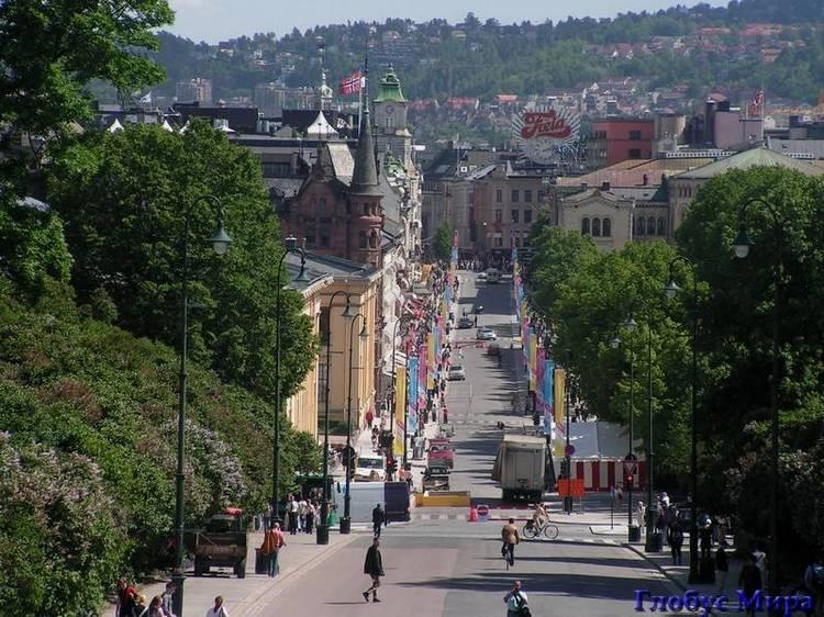 Норвегия: столица
