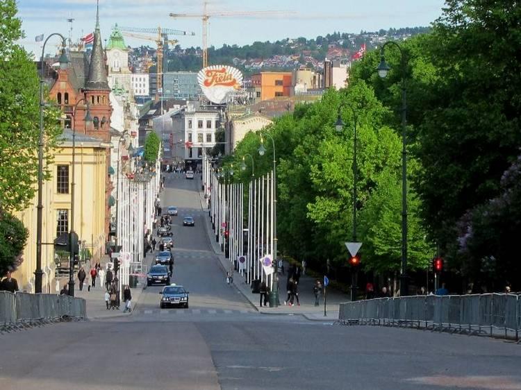 Улица Karl Johans