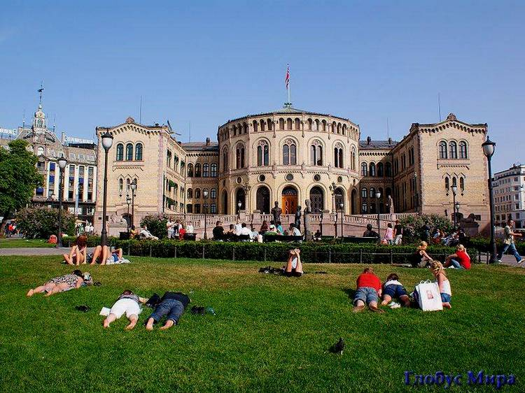 Здание парламента Норвегии