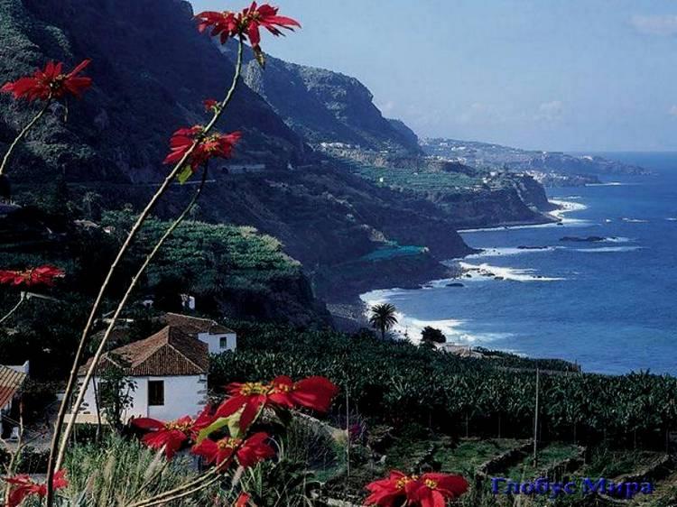 Цветущий испанский остров