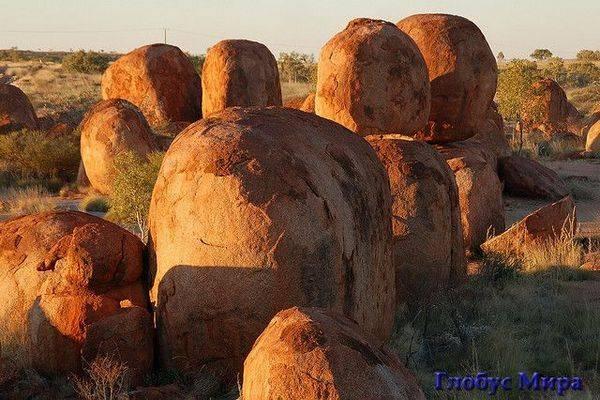 Природа Австралии: Камни Дъявола