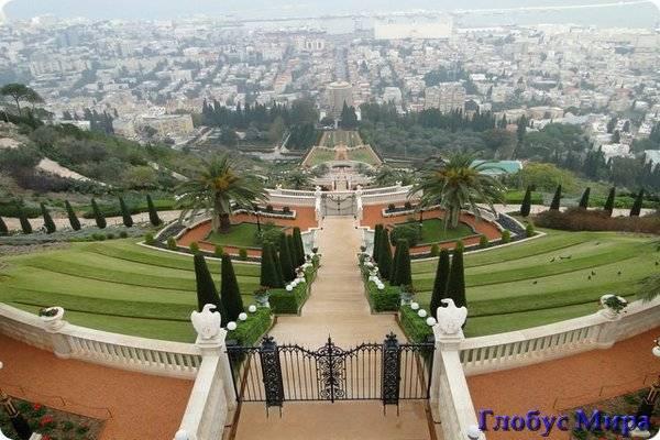 Достопримечательности Хайфы: Бахайские сады