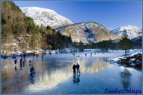 Активный отдых в Норвегии