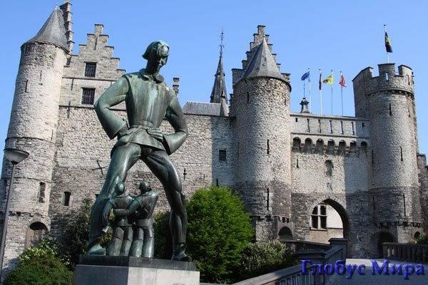 Замечательные памятники Антверпена
