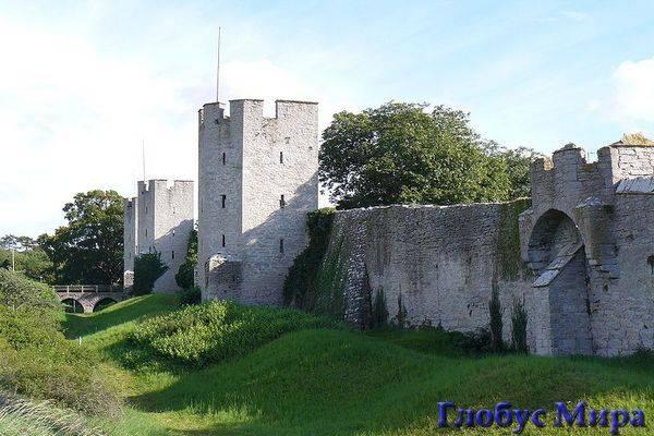 Крепостные стены Висбю