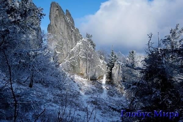 Пейзаж Лапландии