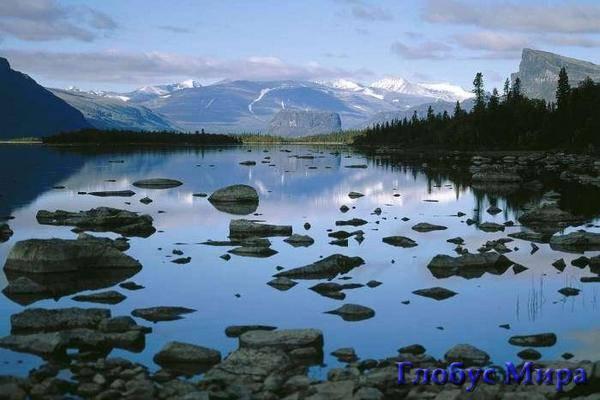 Озера Швеции