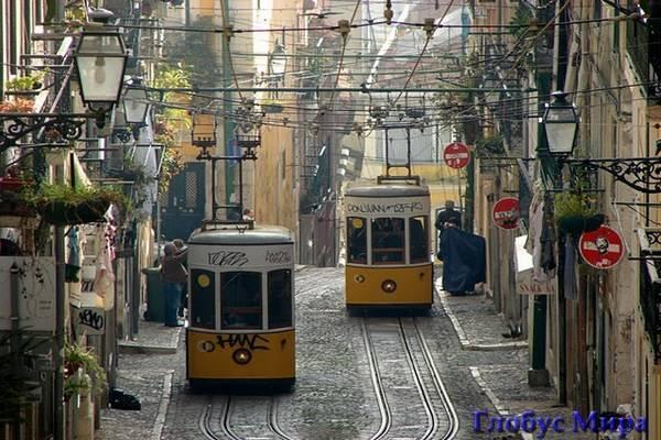 Знаменитые желтые трамваи