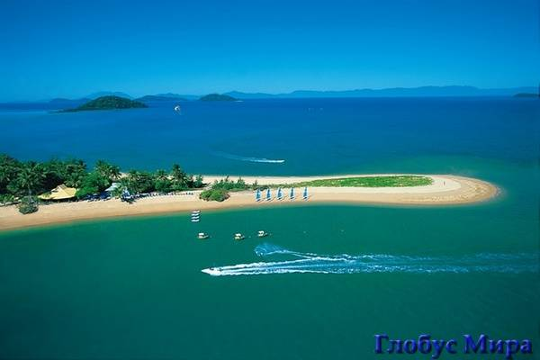 Барьерный риф: остров Данк