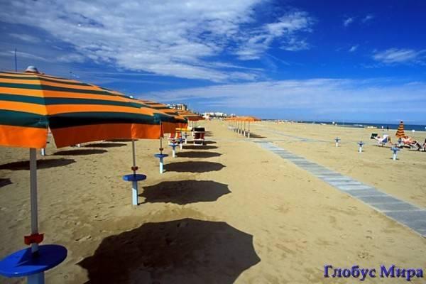 Италия и пляжи Адриатики