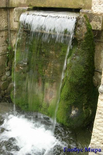"""Водопад """"Стеклянная струя"""""""