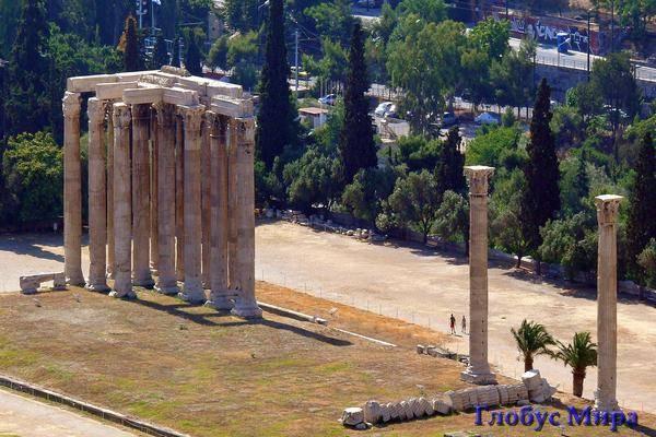 Храм Зевса Олимпийского (Греция)