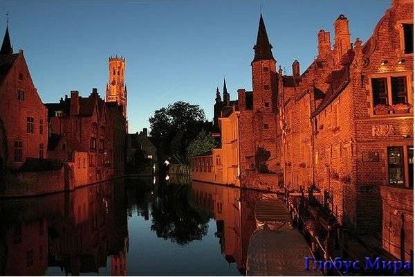 Достопримечательности бельгийского городка