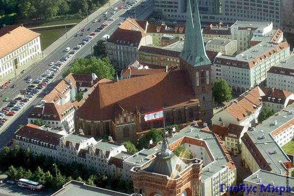 Церковь Св. Николая (карта исторических мест)