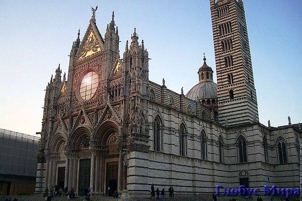 Сиенский кафедральный собор. Италия, достопримечательности в Сиенне