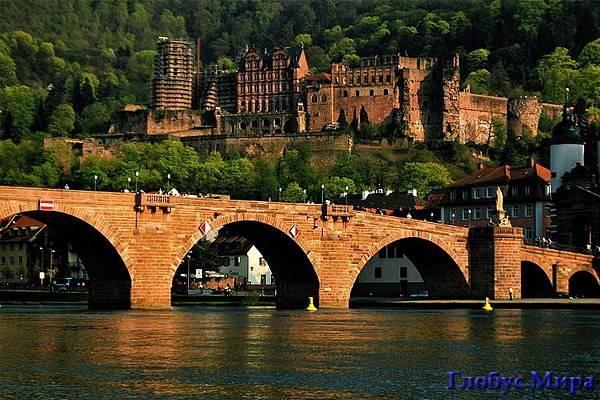 Достопримечательности Гейдельберга (Германия)