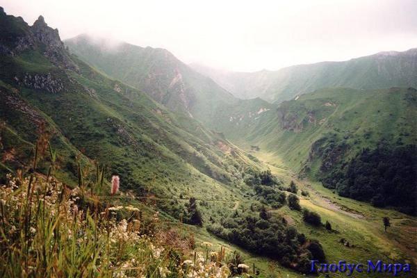 Пейзажи Оверни