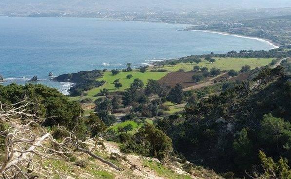 Полуостров Акамас на Кипре
