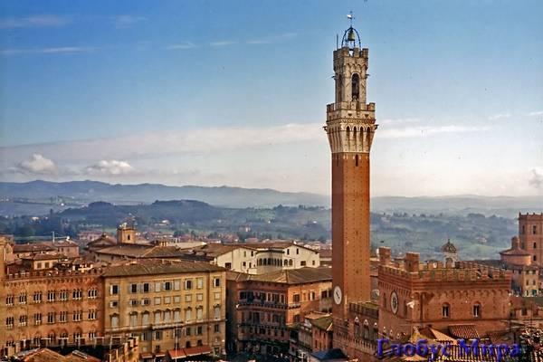 Сиена: панорама и достопримечательности