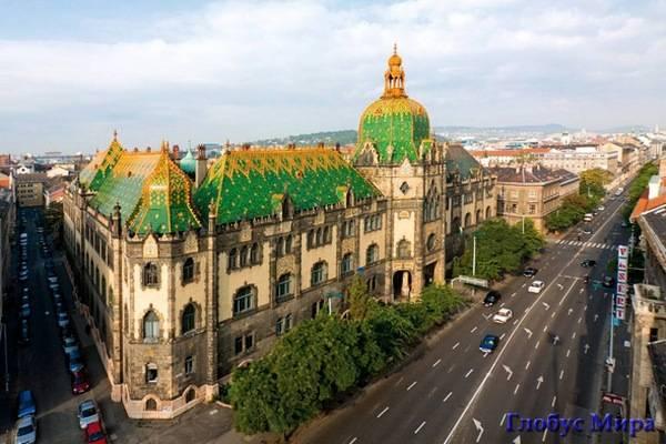 Музей прикладных искусств в Будапеште