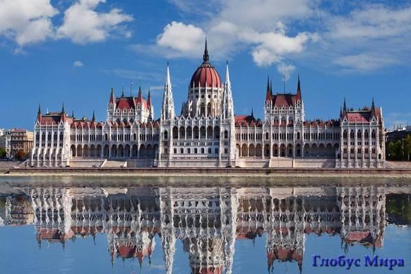Парламент Венгрии в Будапеште