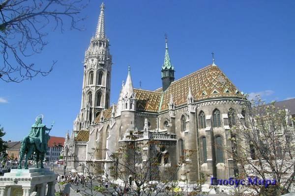 На Крепостной Горе, церковь Матьяша в Будапеште